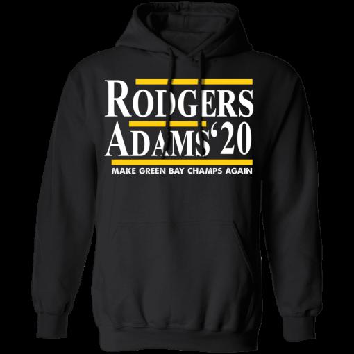 Rodgers Adam's 2020 Make Green Bay Champs Again T-Shirts, Hoodies