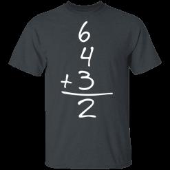 Funny Baseball Gift 6+4+3=2 baseball Double Play T-Shirts, Hoodies
