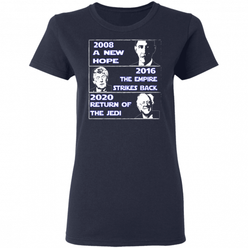 2008 A New Hope – 2016 The Empire Strikes Back – 2020 Return Of The Jedi T-Shirts, Hoodies