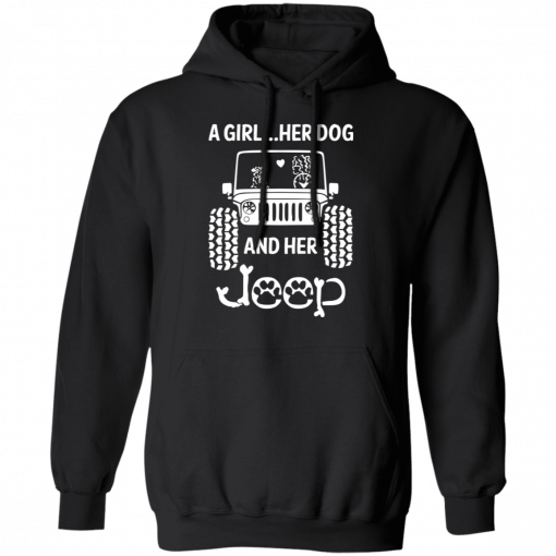 A Girl Her Dog And Her Jeep T-Shirts, Hoodies