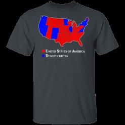 Dumbfuckistan Election Map – Republican Edition T-Shirts, Hoodies