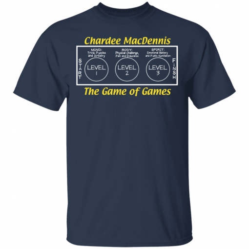 Chardee MacDennis The Game of Games T-Shirts, Hoodies
