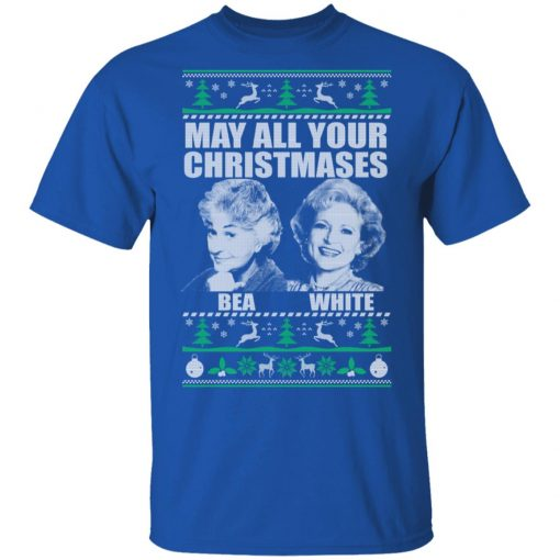 May All Your Christmases Bea White T-Shirts, Hoodies