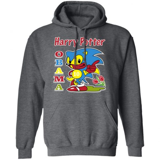 Harry Potter Obama Sonic Version T-Shirts, Hoodies, Long Sleeve