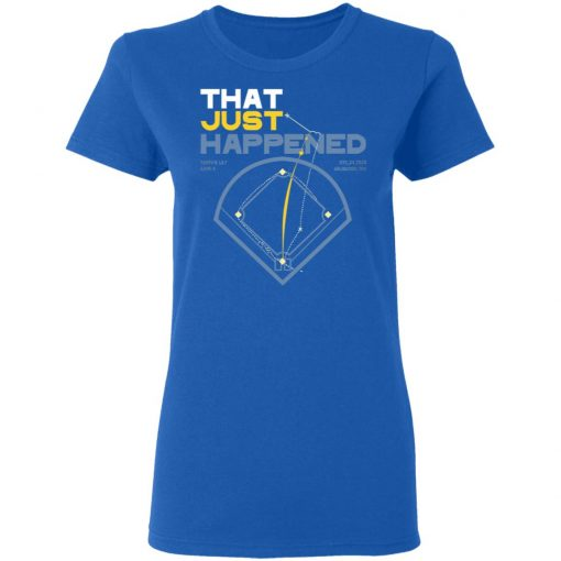 That Just Happened Tampa 8 LA 7 Game 4 T-Shirts, Hoodies, Long Sleeve
