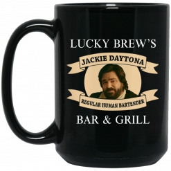 Lucky Brew's Bar & Grill Regular Human Bartender Mug