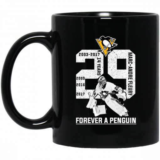 Marc Andre Fleury Forever A Penguin Mug
