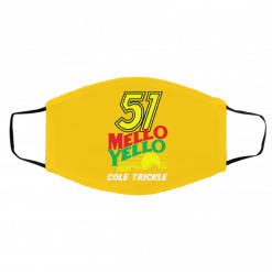 51 Mello Yello Cole Trickle – Days of Thunder Face Mask