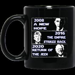 2008 A New Hope – 2016 The Empire Strikes Back – 2020 Return Of The Jedi Mug