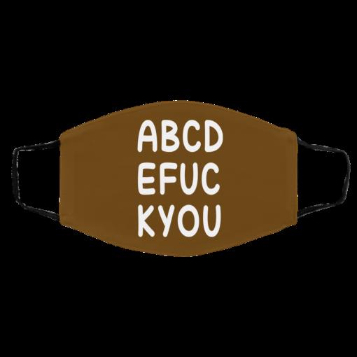 ABCD EFUC KYOU Face Mask