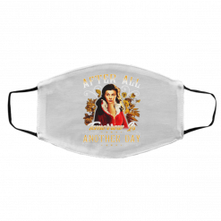 After All Tomorrow Is Another Day – Vivien Leigh Face Mask