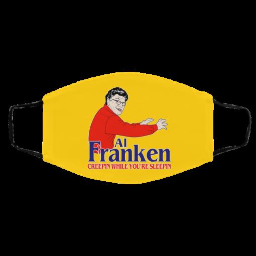 Al Franken Creepin While You're Sleeping Face Mask