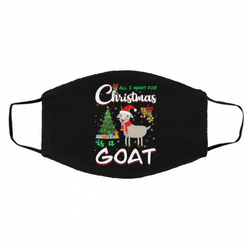 All I Want For Christmas Is A Goat Face Mask
