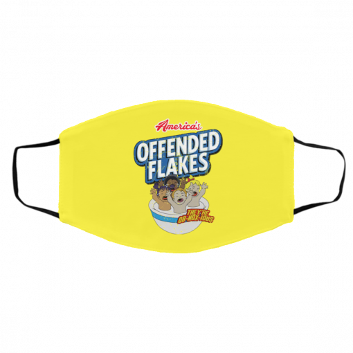 America's Offended Flakes They're OB-NOX-JOUS Face Mask