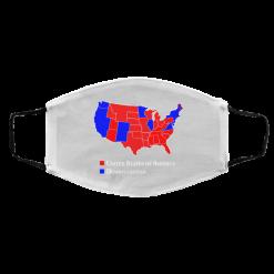 Dumbfuckistan Election Map – Republican Edition Face Mask