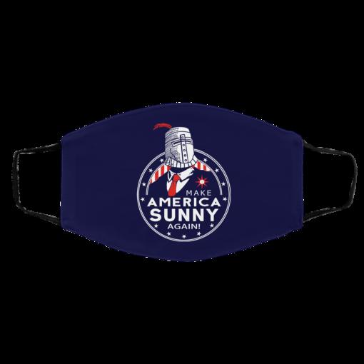 Make America Sunny Again Face Mask