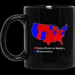 Dumbfuckistan Election Map – Republican Edition Mug