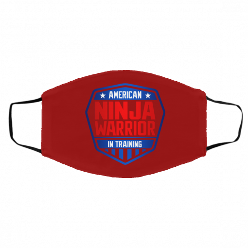 American Ninja Warrior in Training Face Mask