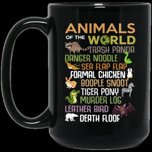 Animals Of The World Funny Animals Mug