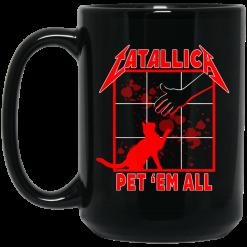 Atallic Pet 'Em All T-Shirts Mug