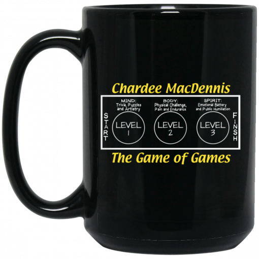 Chardee MacDennis The Game of Games Mug