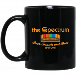 The Spectrum Beer Brawls And Boos 1967-2011 Mug