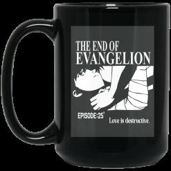 The End Of Evangelion Episode 25 Love Is Destructive Mug