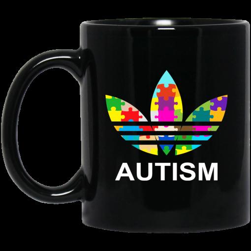 Autism Adidas Logo Autism Awareness Mug