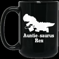 Auntie Saurus Rex Dinosaur Mug