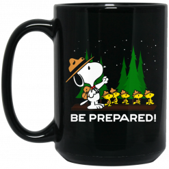 Snoopy Dog Be Prepared Mug