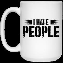 I Hate People Social Distancing Mug