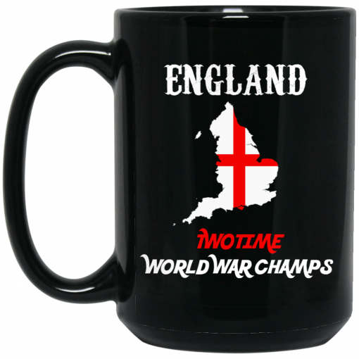 England Two Time World War Champs Mug