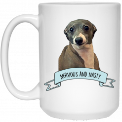 Jenna Marbles Kermit – Nervous and Nasty Mug