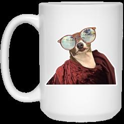 Jenna Marbles Kermit Leisuring Sunglasses Mug