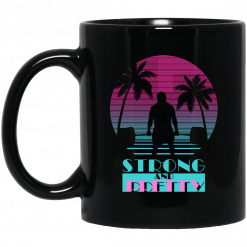 Robert Oberst Strong And Pretty Retro Mug
