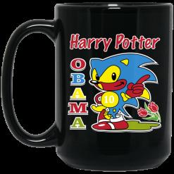 Harry Potter Obama Sonic Version Mug