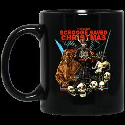 The Night Scrooge Saved Christmas Mug