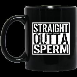 Straight Outta Sperm Mug