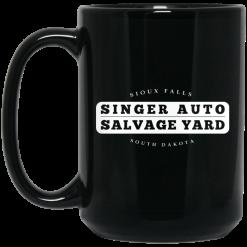 Singer Auto Salvage Yard Sioux Falls South Dakota Mug