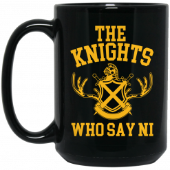 The Knights Who Say Ni – Monty Python Mug