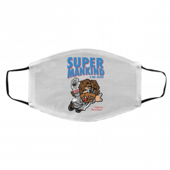 Super Mankind & Mr Socko Have A Nice Day Face Mask