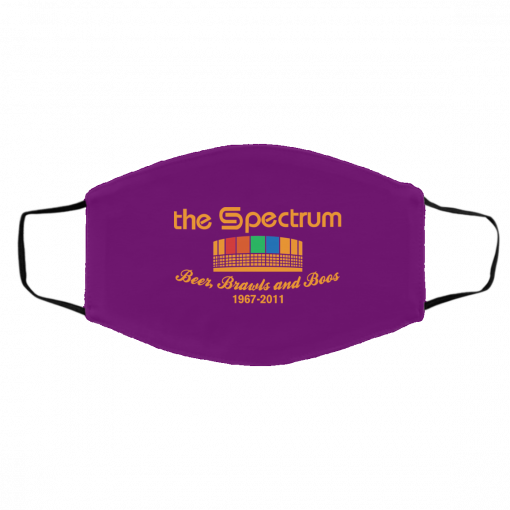 The Spectrum Beer Brawls And Boos 1967-2011 Face Mask