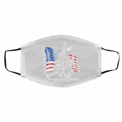 Demolition Ranch Because of the Brave Veterans Day Face Mask