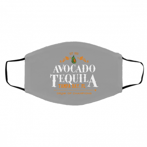Avocado Tequila Tampa Bay Florida Drink Of Champions Face Mask