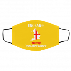 England Two Time World War Champs Face Mask