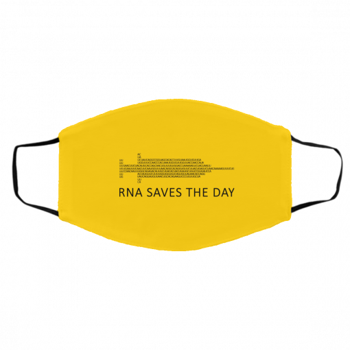 RNA Saves The Day Face Mask