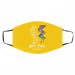 We Defended The Stone We Found The Chamber We Are The Harry Potter Generation Face Mask