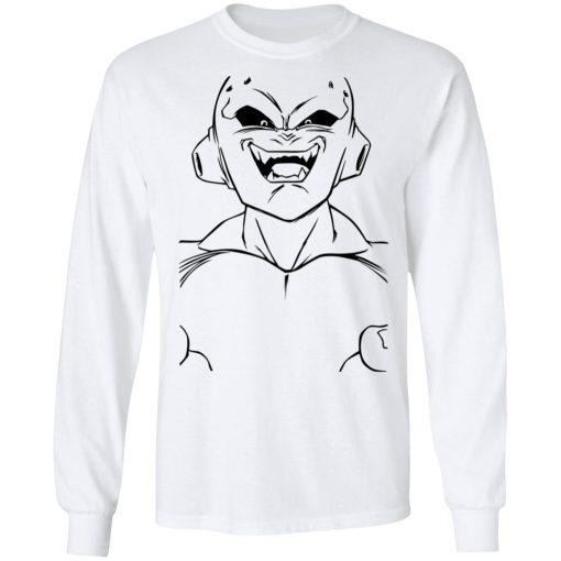 Dragon Ball Z Majin Buu Kid Buu Large Face Line Art Adult T-Shirts, Hoodies, Long Sleeve
