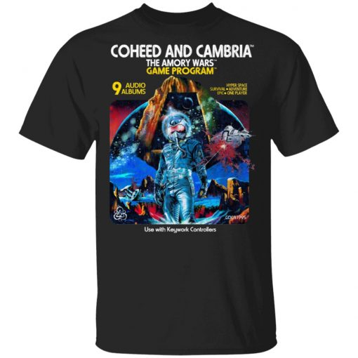 Coheed And Cambria The Amory Wars Game Program T-Shirts, Hoodies, Long Sleeve