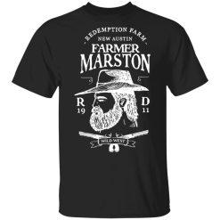 Farmer Marston Redemption Farm New Austin 1911 T-Shirts, Hoodies, Long Sleeve